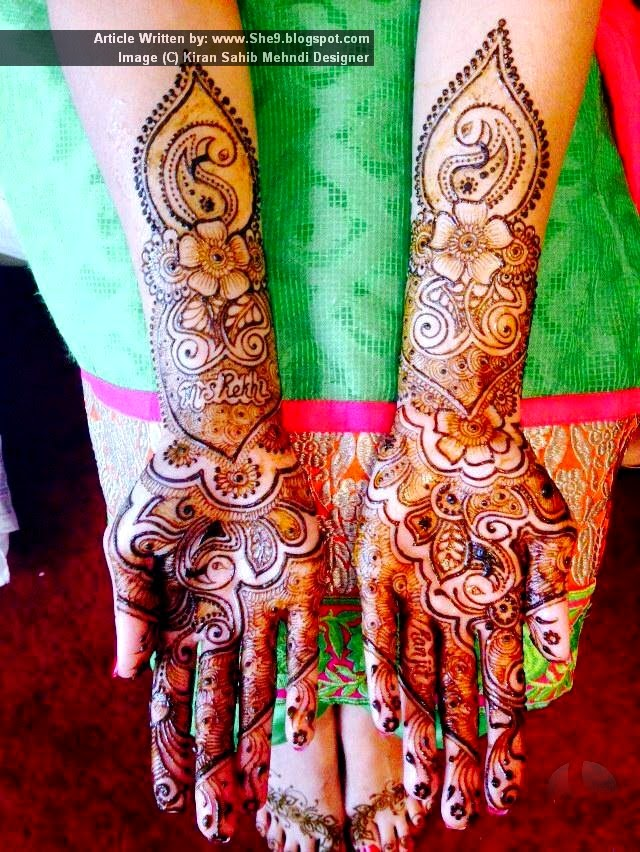 Christmas Mehndi Designs for Girls
