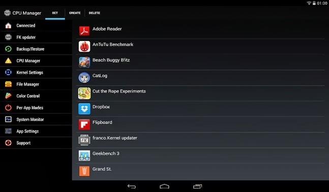 franco.Kernel updater android apk - Screenshoot