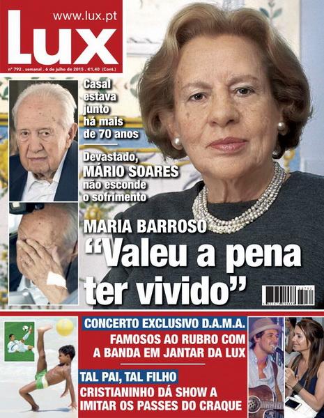 Lux – Nº 792 (6 de Julho 2015)