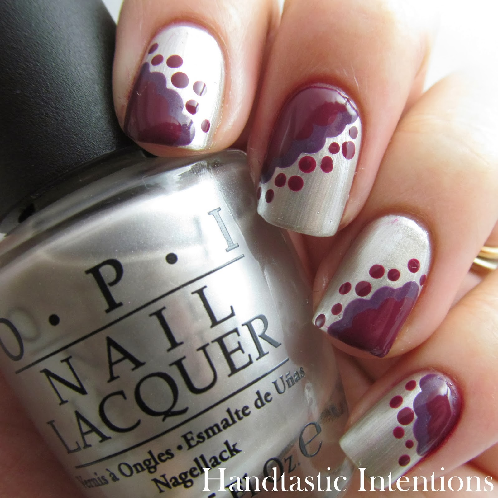 Handtastic Intentions Nail Art Lace