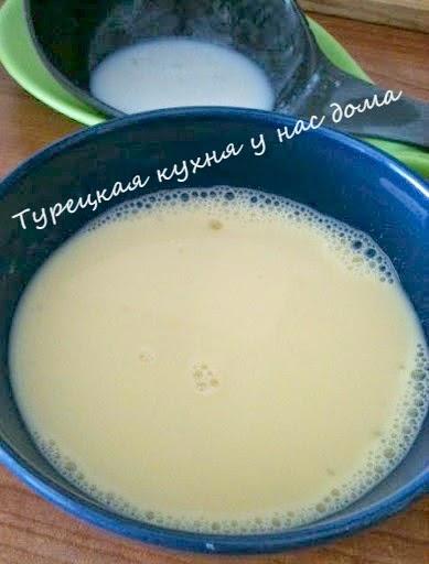 турецкий рисовый десерт