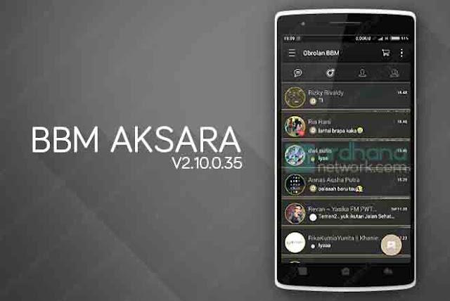 BBM Aksara Reborn V2.10.0.35
