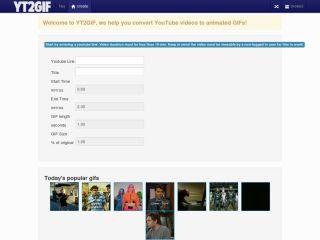 موقع yt2gif لتحويل فيديوهات يوتيوب إلى صور متحركة