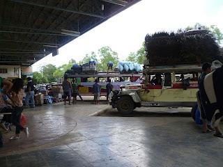 San Jose bus terminal. Puerto Princesa