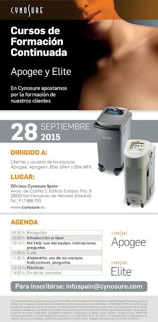 2015-09-28-curso-formacion-Laser-Apogee-Elite-Cynosure-Spain