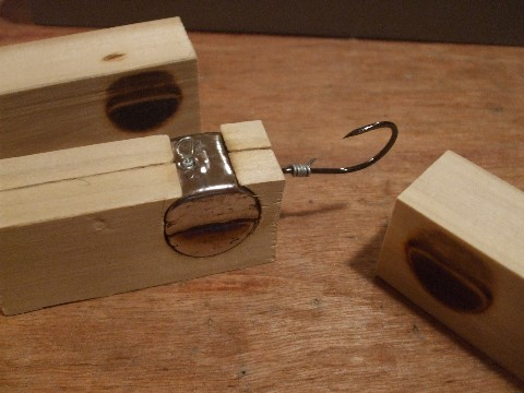 Fishing jig making without expensive moulds how to make de moulding the jig heads solutioingenieria Image collections