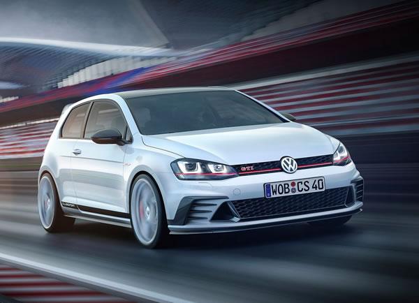 VWの「Golf GTI Clubsport」フロント画像