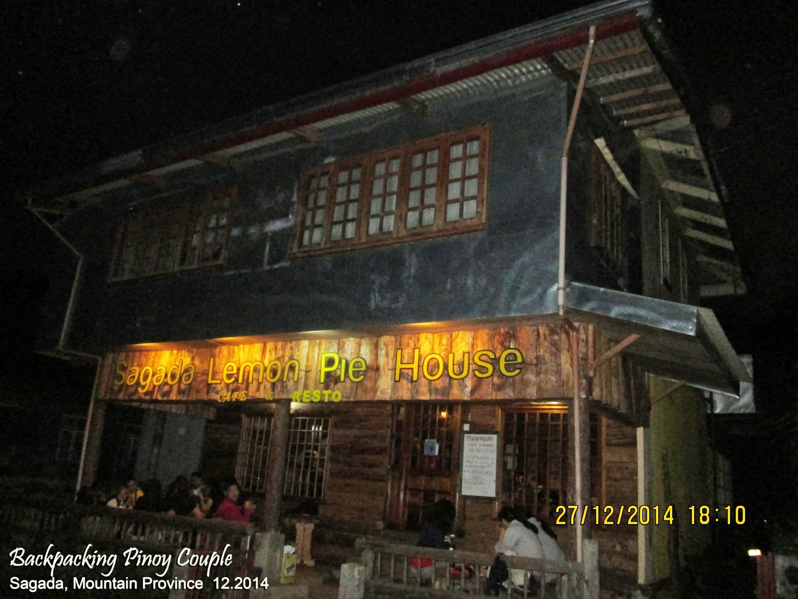 Backpacking Pinoy Couple, Sagada, Mountain Province, Philippines, Sagada Lemon Pie House