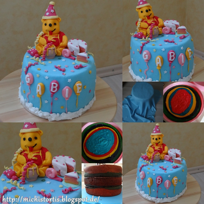Michi 39 s tortis bilder motivtorten co - Winnie pooh kuchen deko ...