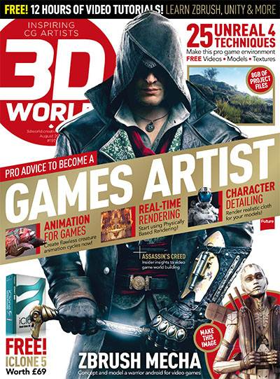 3D World Magazine August 2015