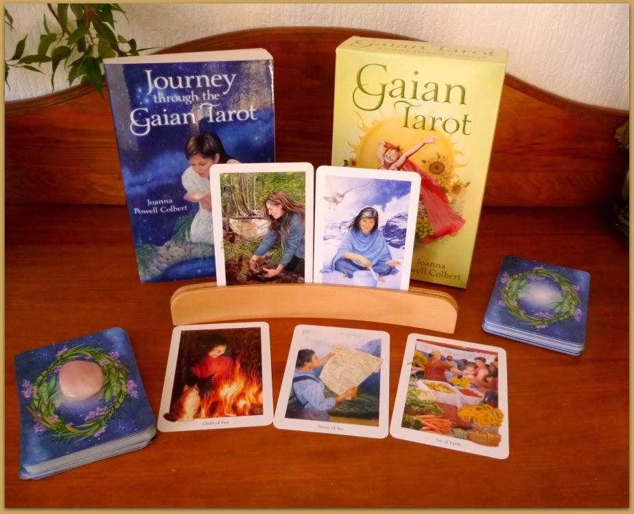 The Gaian Tarot Joanna Colbert
