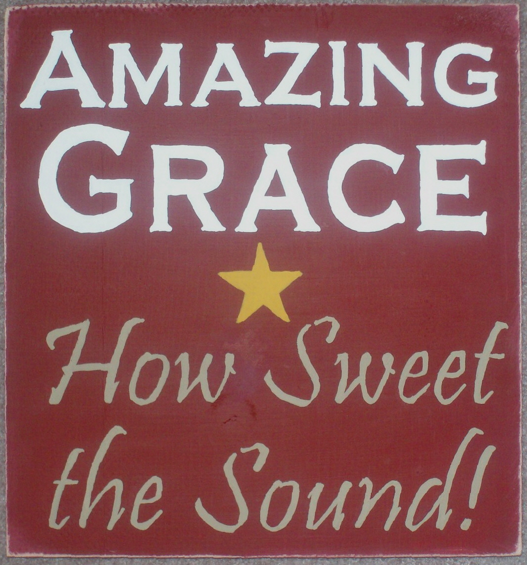 Amazing Grace: Check Out Past Blessings Farm's Hand Painted Signs
