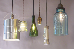 what does a repurposed light fixture look like fantastic this. Black Bedroom Furniture Sets. Home Design Ideas