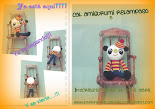 Cal amigurumi relampago con Jazmin