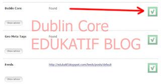 Cara Pasang Dublin Core di Blog
