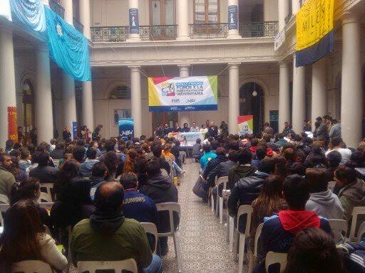 El MILES-ENPL participó del Foro por la Democratización Universitaria organizado por la FUA-E