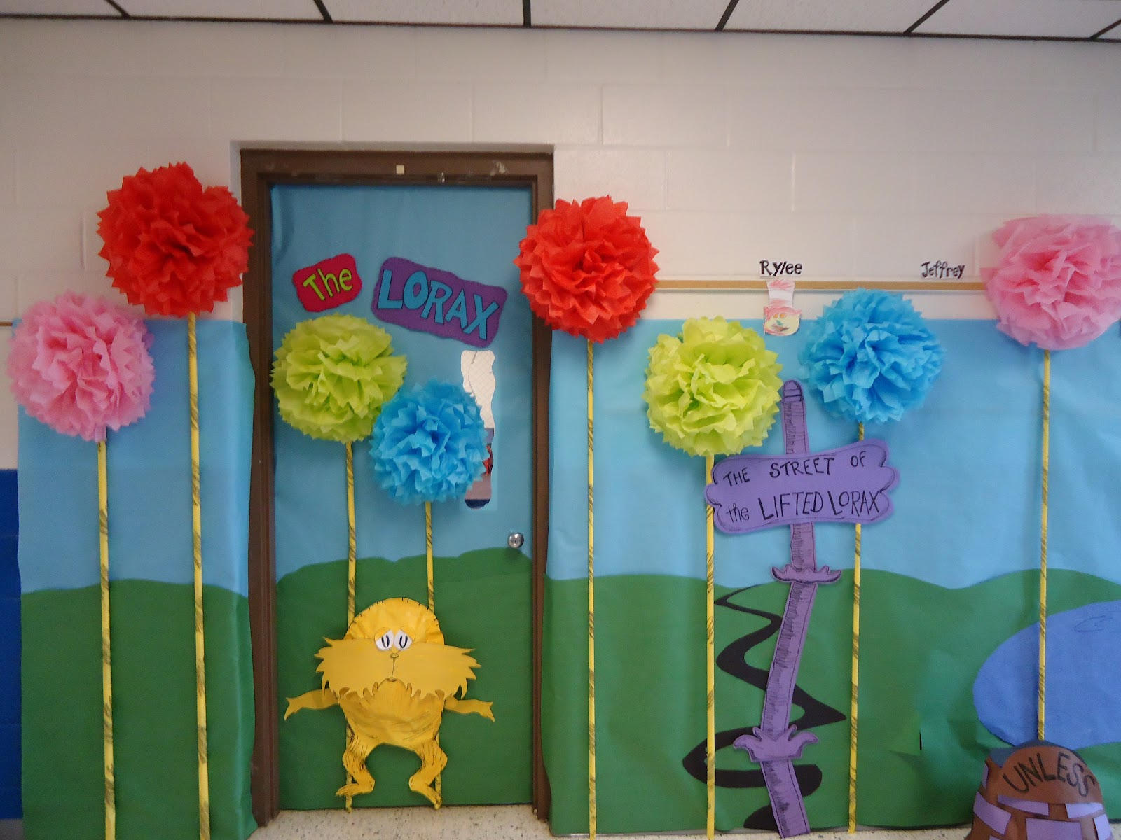 Lorax Classroom Decor ~ Celebrate seuss a bookshelf monstrosity