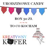 Urodzinowe Candy w Kreatywnym Kufrze
