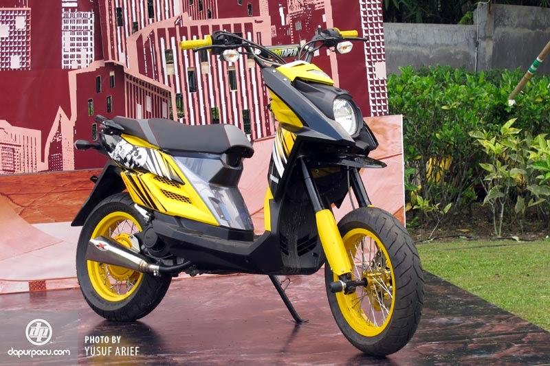 kumpulan Variasi Motor Matic X Ride