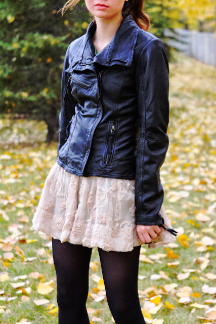 Summer to Fall Fashion, Leather Jacket, Autumn Fashion