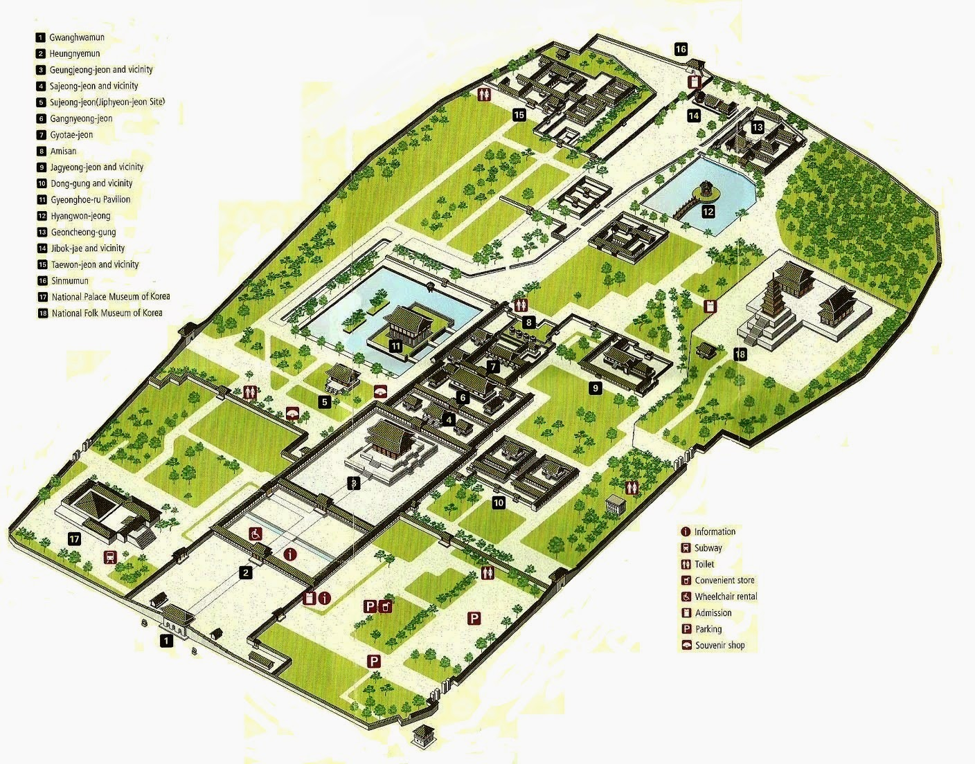 map of Gyeongbokgung Palace, Gyeongbokgung Palace map, seoul palace map, map seoul palace, seoul tourist attraction, what to do in seoul, kids in seoul at winter, winter attractions in seoul, where to go in seoul