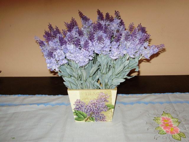 Vaso com lavanda for Lavanda coltivazione in vaso