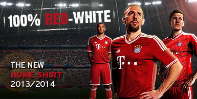 GROSIR JERSEY GRADE ORI DAN PLAYER ISSUE - HOME BAYER MUNCHEN MUSIM 2013-2014