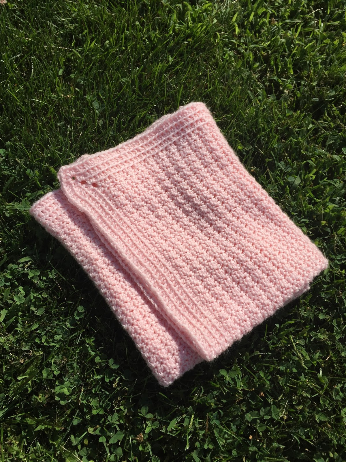 Free Crochet Pattern: The Littlest Princess (or Prince) Baby Blanket