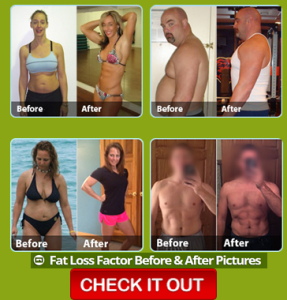Fat Loss Factor before and after pictures