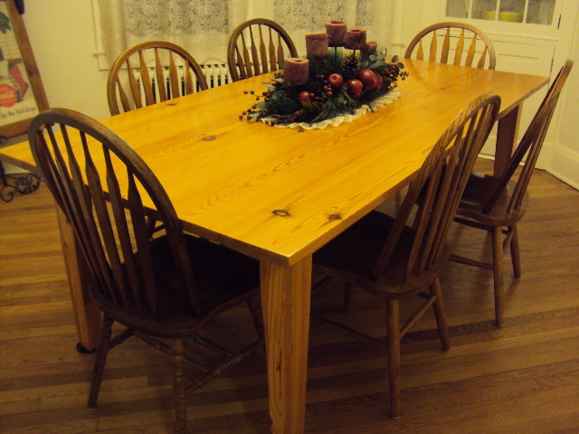 The Furniture And Flooring Are Manufactured From A Variety Of Local Woods Such As Antique Heart Pine White Cedar Wormy Chestnut Walnut