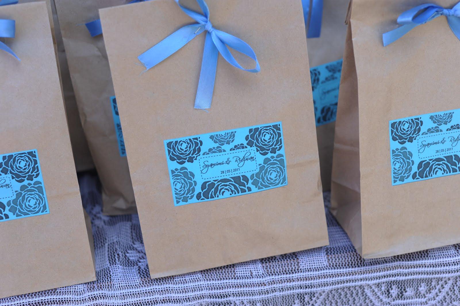 Tips untuk simple door gift youtube for Idea door gift kahwin
