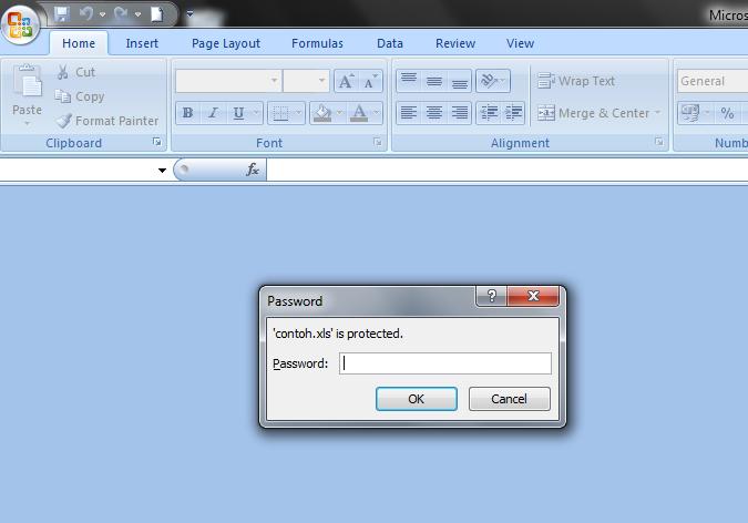 Cara Membuka Protect Sheet Excel 2007 - cara membuka ...