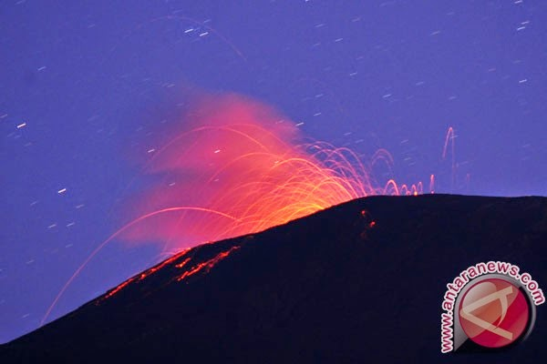 Diperkirakan, Gunung Slamet membentuk kubah baru