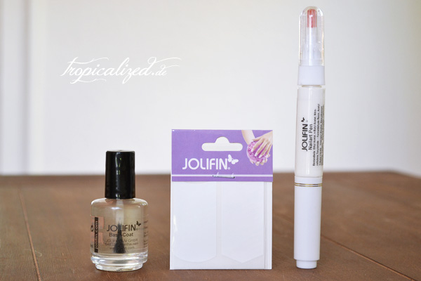 Jolifin base coat nailart pen white tip guides