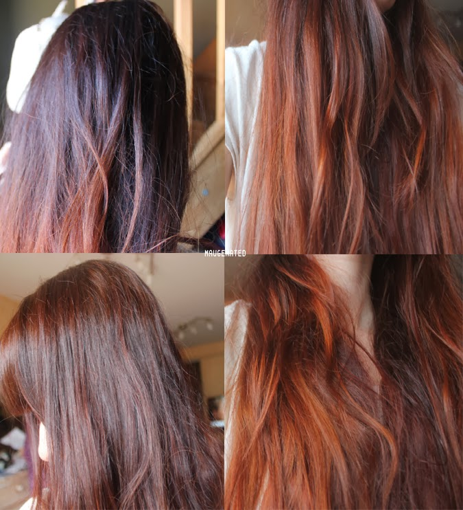 rsultat j1 lumire naturelle cheveux trs emmls depuis le henn a volu et a fonc un peu plus - Henn Coloration Cheveux