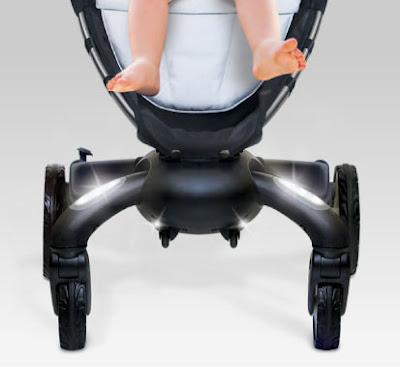 4moms Origami 電動摺疊嬰兒推車 耐重