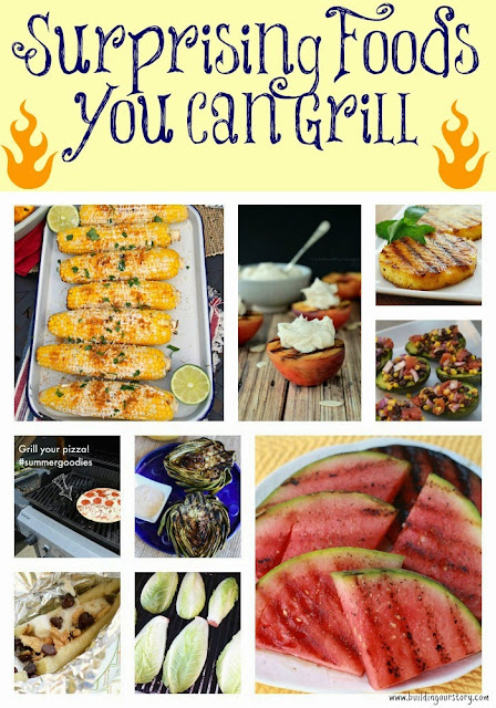 Surprising Foods You Can Grill, grilled watermelon, grilled pineapple, grilled peaches, grilled bananas, grilled corn on the cob, grilled avocados, grilled artichokes, grilled lettuce, grilled pizza, recipes for the grill,