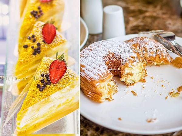 Left: Yellow Velvet   Right: Cronut Vanilla