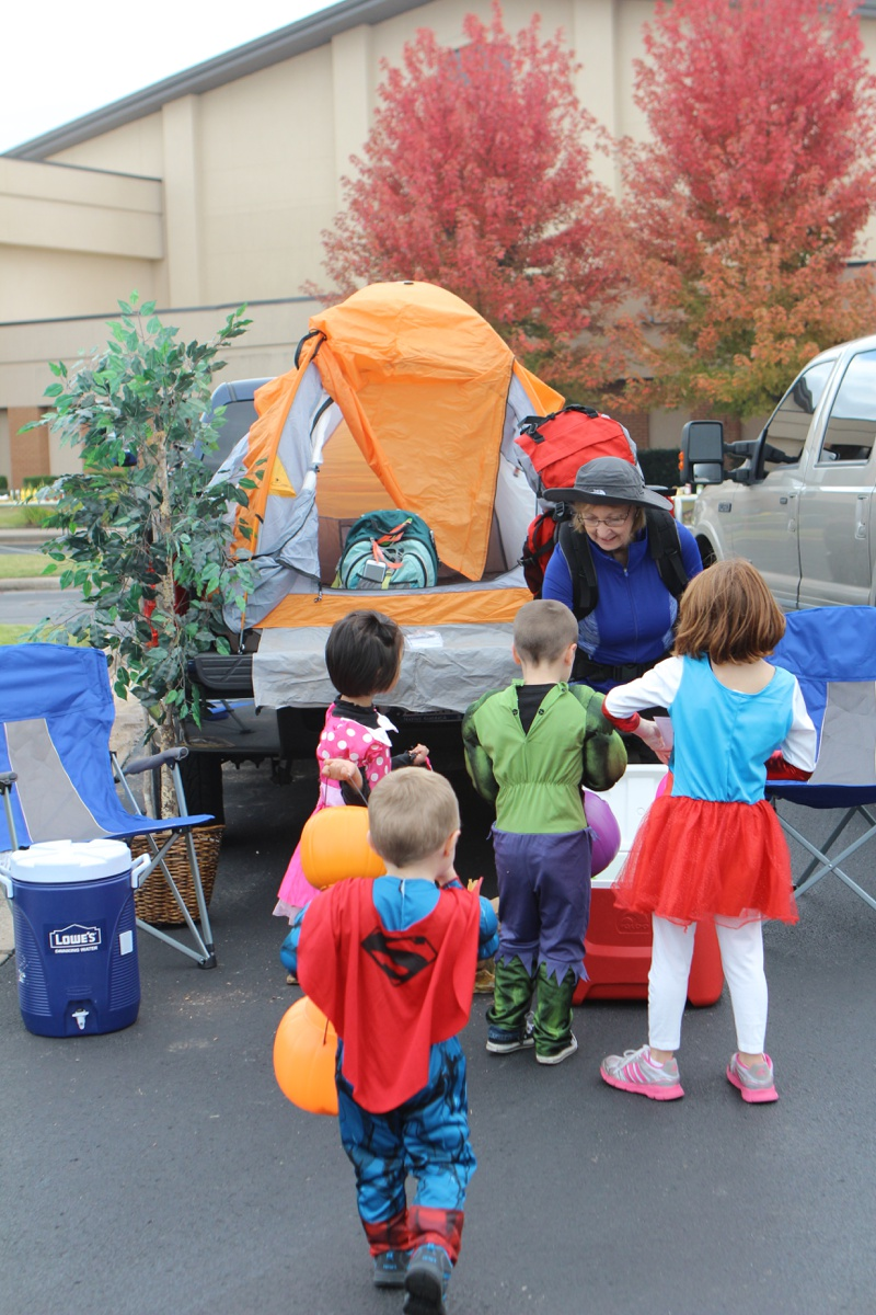 Trunk or Treat Idea Camping