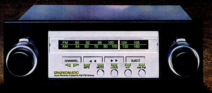 Sparkomatic story part 2 going stereo phscollectorcarworld the sparkomatic sr 3300 was their mid range stereo this one is a revised version with brushed stainless steel faceplate which was hip in 1978 with the high asfbconference2016 Images