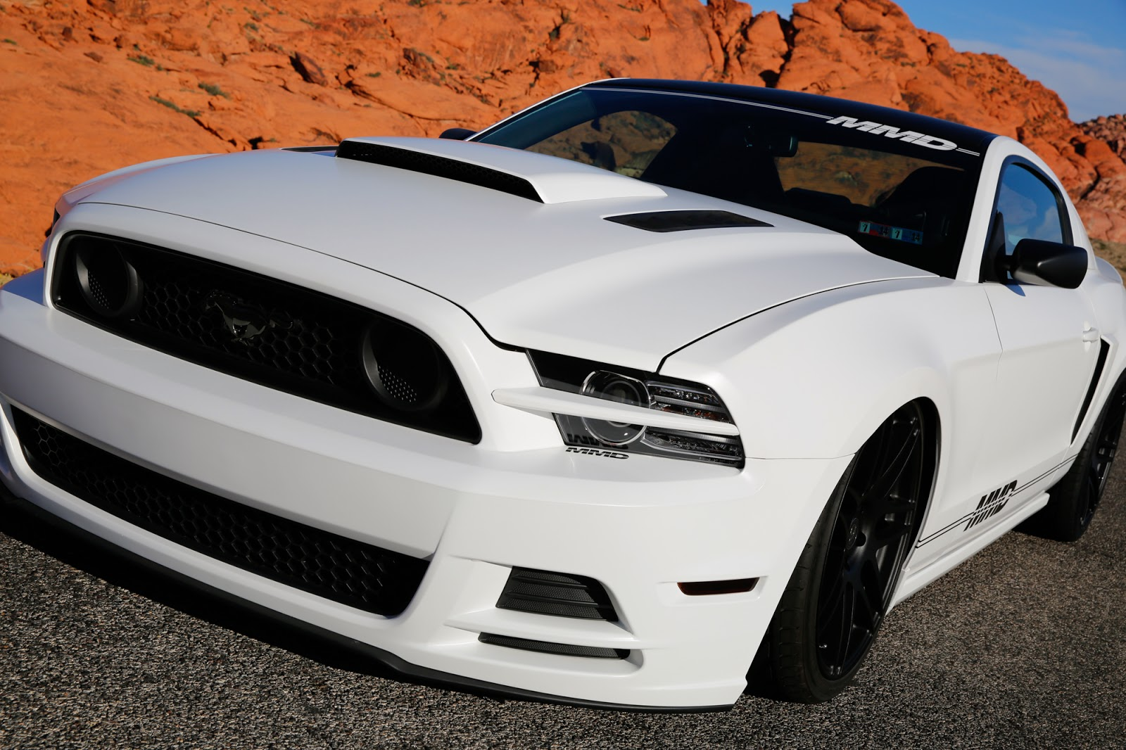 drive away in their SEMA built, custom 2014 Mustang GT—Project MMD