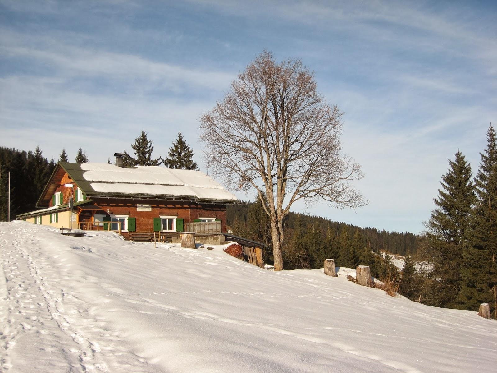 auf guten wegen andreas 39 outdoor blog winterwanderung b dele lustenauer h tte schwarzenberg. Black Bedroom Furniture Sets. Home Design Ideas