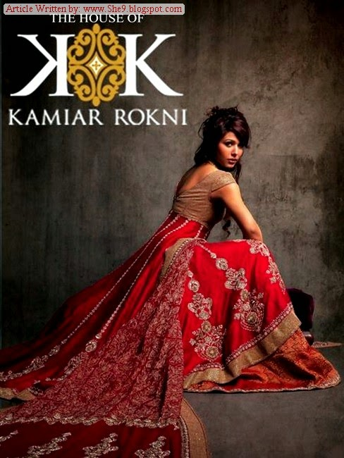 Designer Kamiar Rokni Bridal Wear Suits