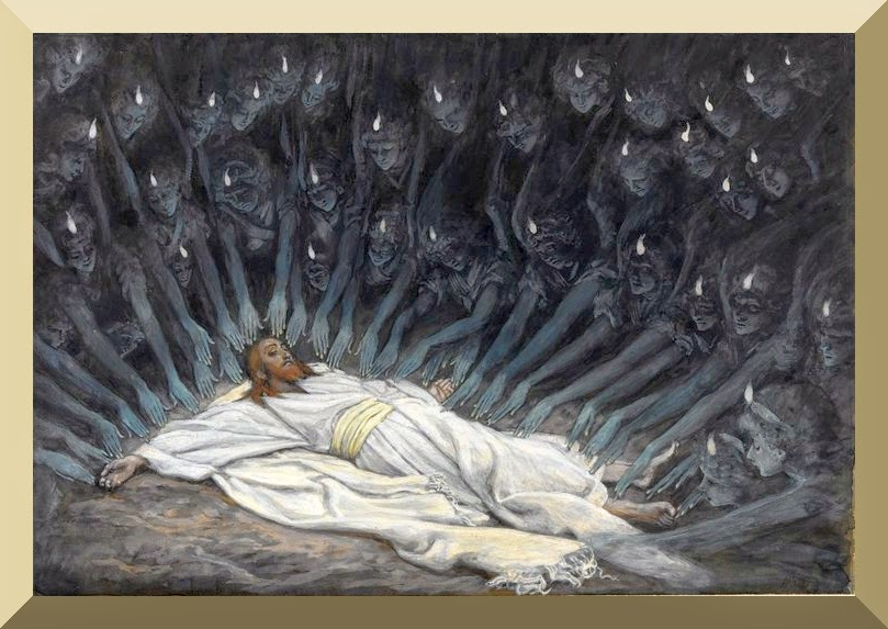 """Jesus Ministered to by Angels"" --  by James Tissot"