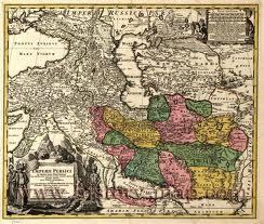 در نقشه 1700 میلادی مستقل بلوچستان