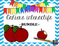 French cahiers interactifs BUNDLE