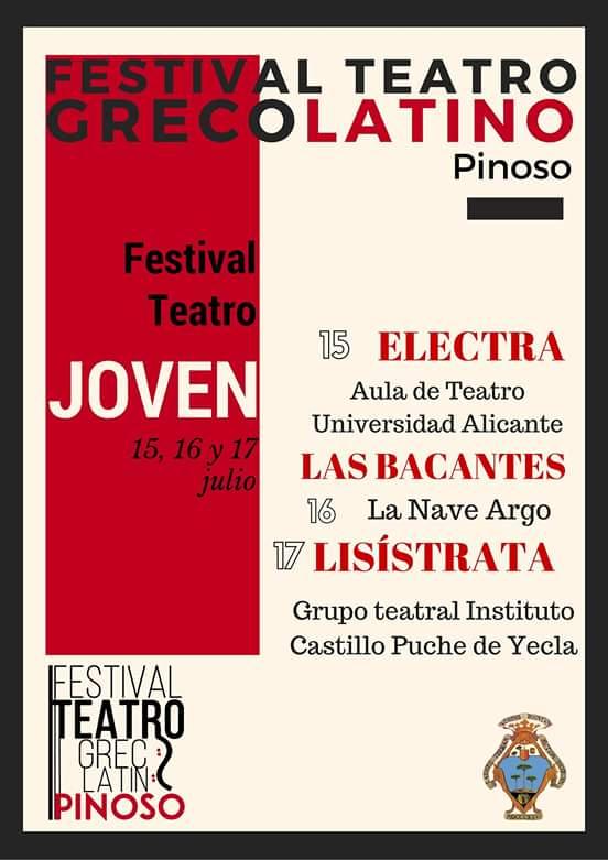 LA NAVE ARGO EN EL II FESTIVAL DE TEATRO GRECOLATINO DE PINOSO