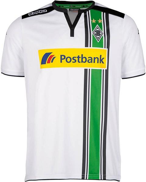 Kappa lança as novas camisas do Borussia Mönchengladbach ... 5035a006f3db8