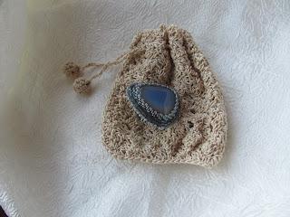 мешочек для украшений, вязание крючком, стильный аксессуар,вязание на заказ, красивые вещи своими руками, настроение своими руками