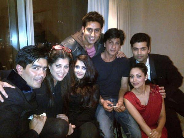 Aishwarya, Abhishek, Srk, Gauri, Karan Johar!